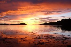 Midsummer night over Loch Shieldaig