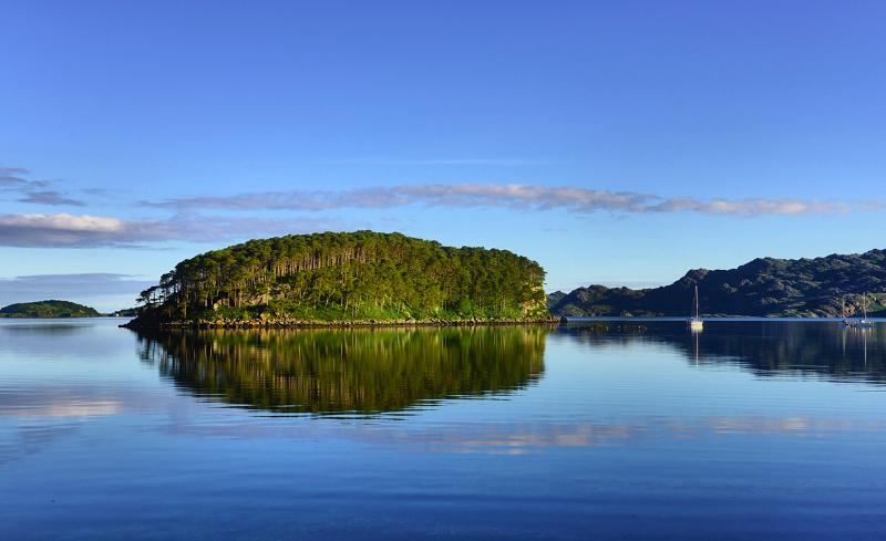 Shieldaig island, Loch Shieldaig, Scotland