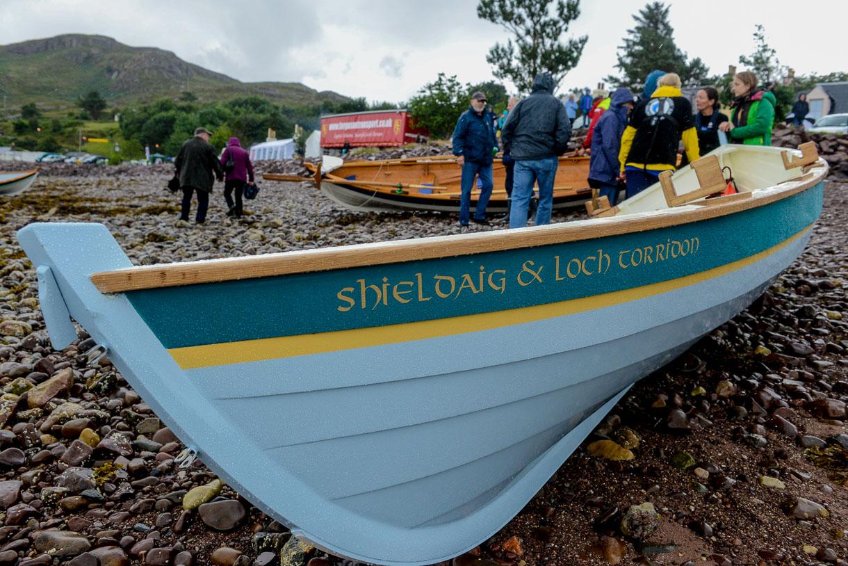 Sailing Loch Shieldaig, Scotland
