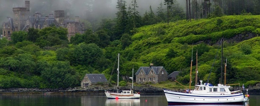 Plockton near Shieldaig, Scotland