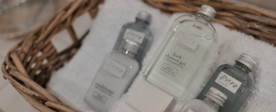 Complimentary Arran Aromatics An Cos luxury holiday home, Shieldaig, Scottish highlands