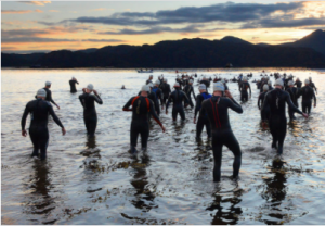 Celtman extreme triathlon, Shieldaig, Scottish highlands