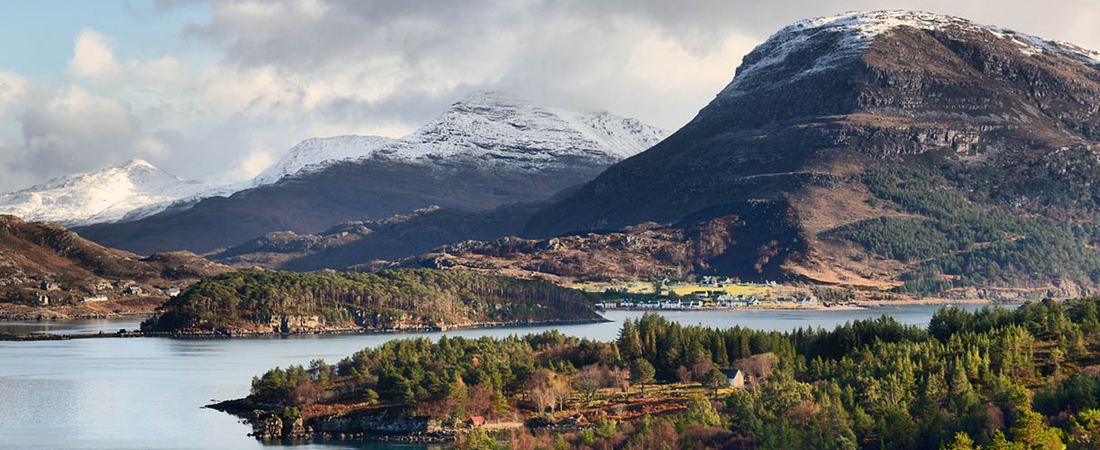 Shieldaig & Torridon Mountains, Scotland
