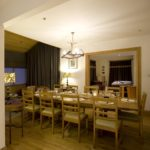 Dining room seats 10, luxury holiday home, Shieldaig, Scotland