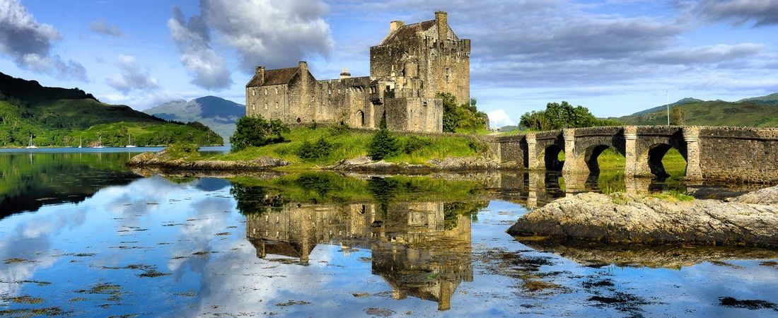 Eilean Donan Castle, near Shieldaig luxury holiday home, Scottish highlands