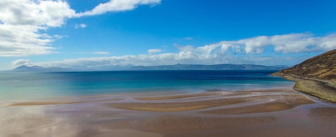 Applecross Bay near An Cos Shieldaig, Scotland